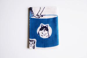 Serviette japonaise tour de chat